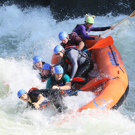 Gauley River Rafting (and Impromptu Swimming)