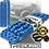 Thumbnail: set (1 paar) TRED PRO BLAUW rijplaten - sandboards BLUE