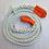 Thumbnail: Kracht verdeel touw wit 2 meter bij Snatch Strap - KERR - kinetische lijn