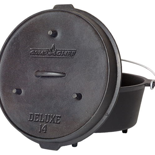 "Deluxe Dutch Oven 14"" (36 cm), Camp Chef"