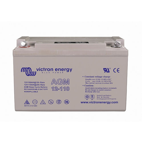 Victron Energy AGM 12V 110Ah accu
