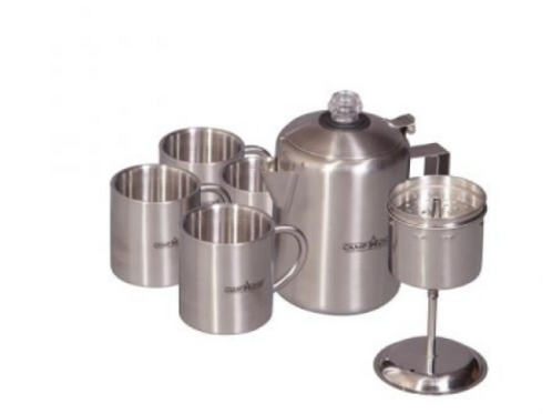 Camp Chef koffie set