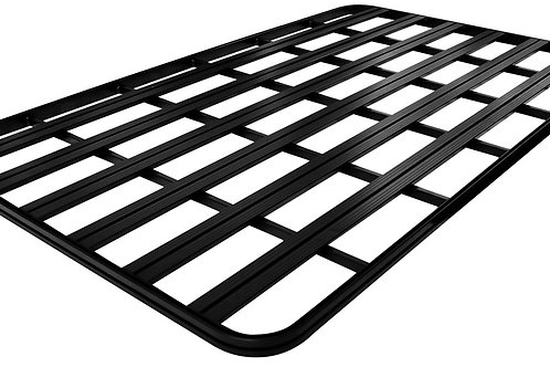 UPRACKS roofrack - dakrek 214 X 129 cm. zwart aluminium, voorzien van T-gleuven.