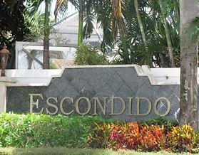 Escondido City Sign