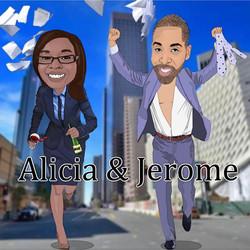 Alicia and Jerome