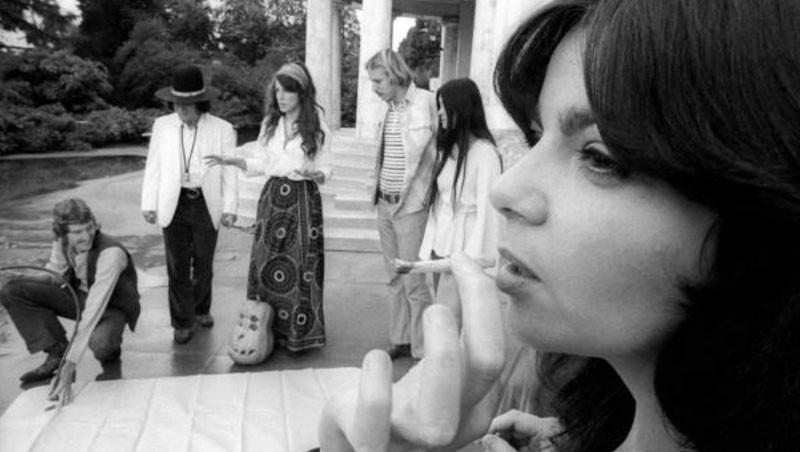 Women smoking cannabis in the 1970s