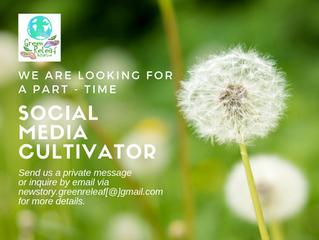 Social Media Cultivator Needed!