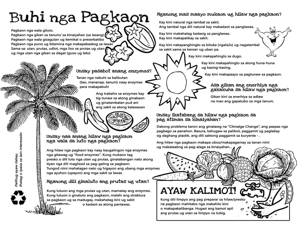 Living Food Guide (Bisaya)