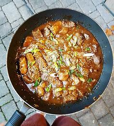 Mongolian-Style Sticky Beef