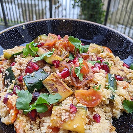 Charred Vegetable Cous Cous