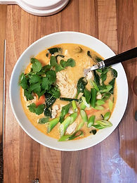Thai Red Chicken Noodle Soup
