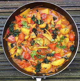 Potato & Tomato Curry