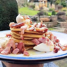Bacon & Cream Cheese Pancakes