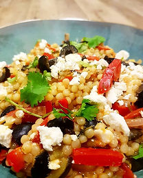 Mediterranean-Style Giant Cous Cous