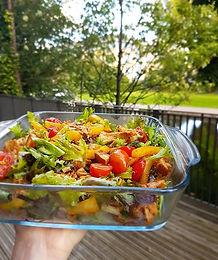 Harissa Spiced Chicken Salad