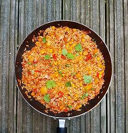 Moroccan Spiced Veg & Rice