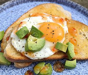 Avocado & Egg Brunch
