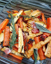 Herb & Honey-roasted Root Veg