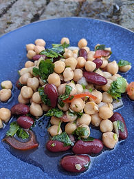 Chickpea & Bean Salad
