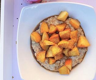 Toffee-Apple Porridge