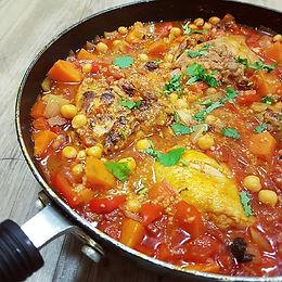 Moroccan Chicken & Vegetables