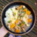 Chicken & Pumpkin Casserole