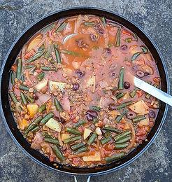 Moroccan Lentil & Veg Stew