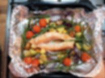 Salmon Traybake