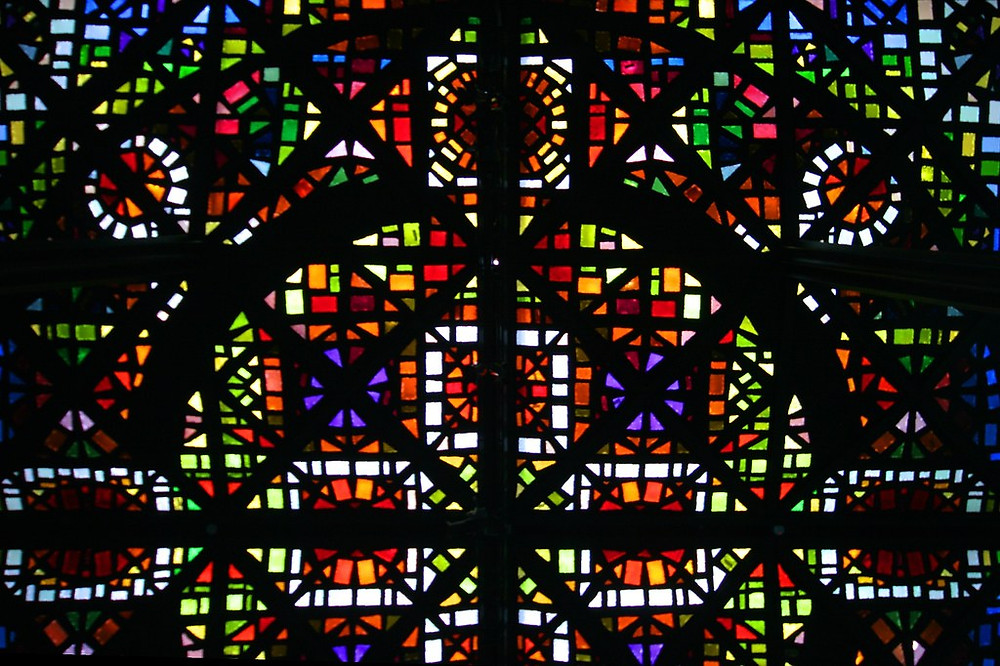 NGV Melbourne - Stained Glass Ceiling detail | The National … | Flickr