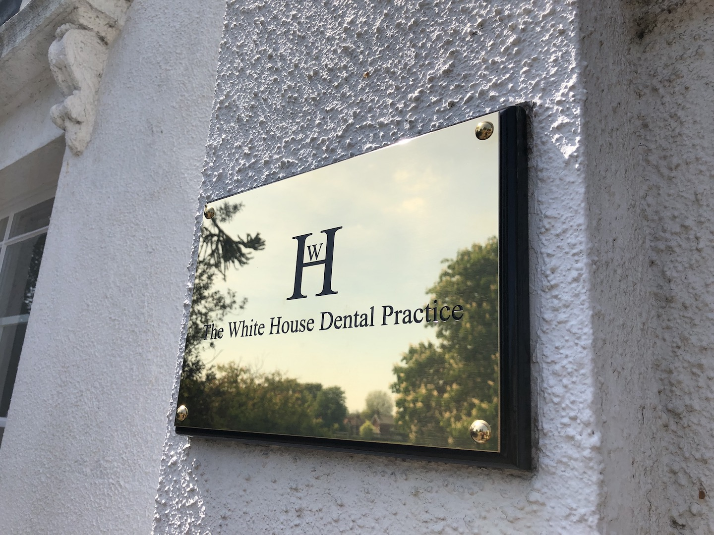 WHD Brass Sign copy