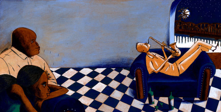 OlivierTemime Saxophone ChristianCailleaux Senegal Jazz