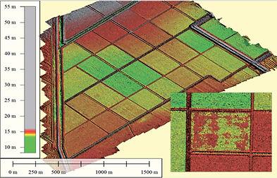 Пример снимака беспилотника в программе ANT