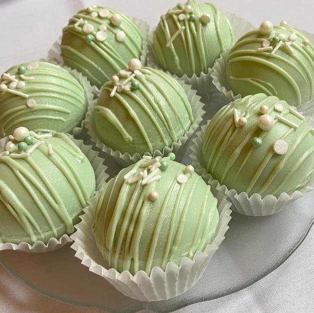 Matcha Green Tea Bombs