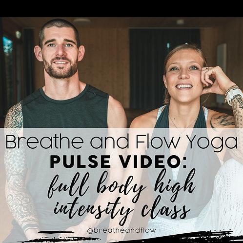 Full Body High Intensity Pulse Program