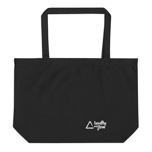 Large Organic Athletic Tote Bag
