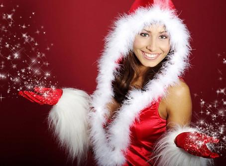 Anfitrionas para sus activaciones de marca navideñas