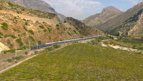 The Blue Train of South Africa - Luxury from a Bygone Era