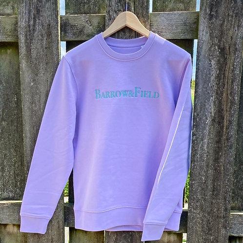 The Yarlington 'Heritage' Sweatshirt - Lavender