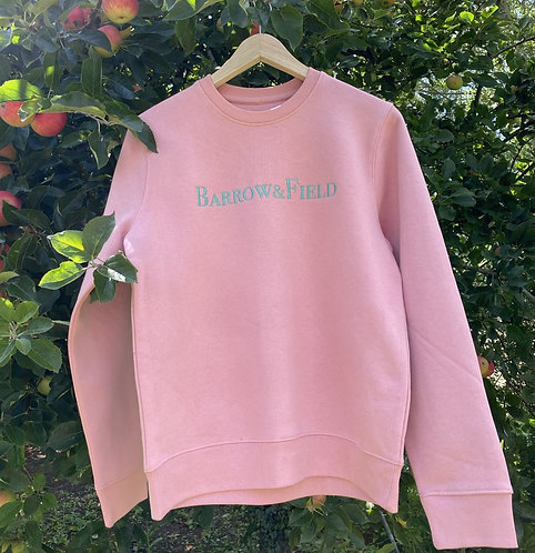 The Yarlington 'Heritage' Sweatshirt - Dusty Pink
