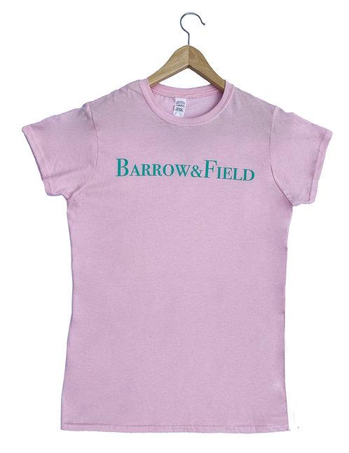 The Bramley Ladies Tee - Light Pink