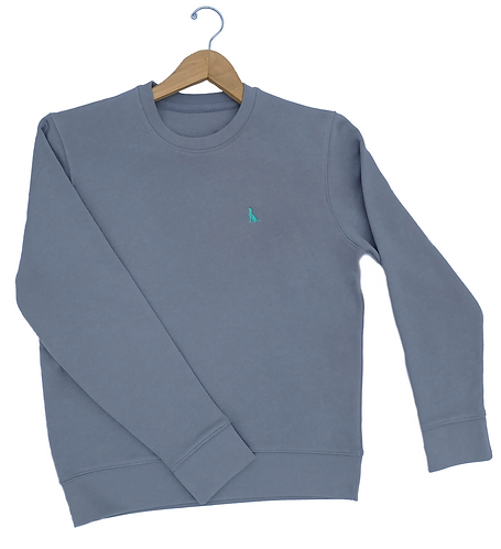 The Yarlington 'Classic' Sweatshirt - Lava Grey