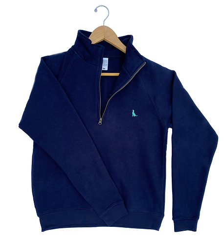 The Stembridge 'Classic' 1/4 Zip - Navy