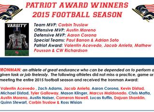 MVP & Other Awards