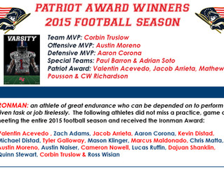 MVP & Other Awards