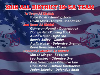 ALL DISTRICT AWARDS