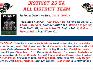 All District 25-5A Performers