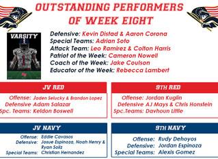 Outstanding Performers Week 8