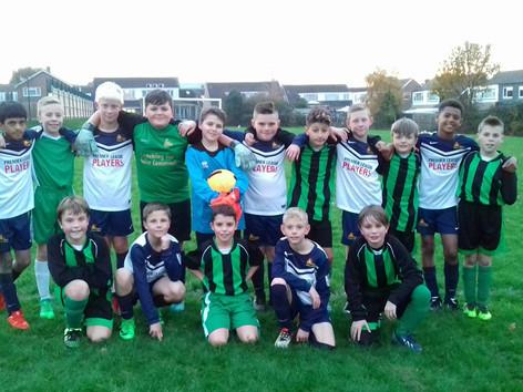 Football Team Victory