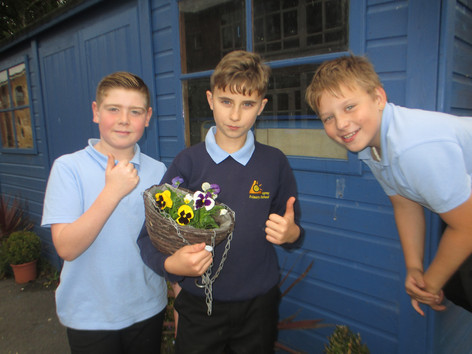 Young Gardening Team