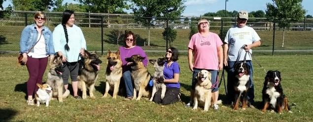 Ballenger Dog Park fun!